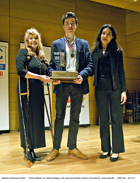 420X-189 Poetry Out Loud Champion