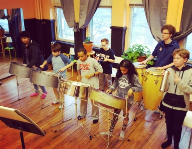 steel pan kids early 2017