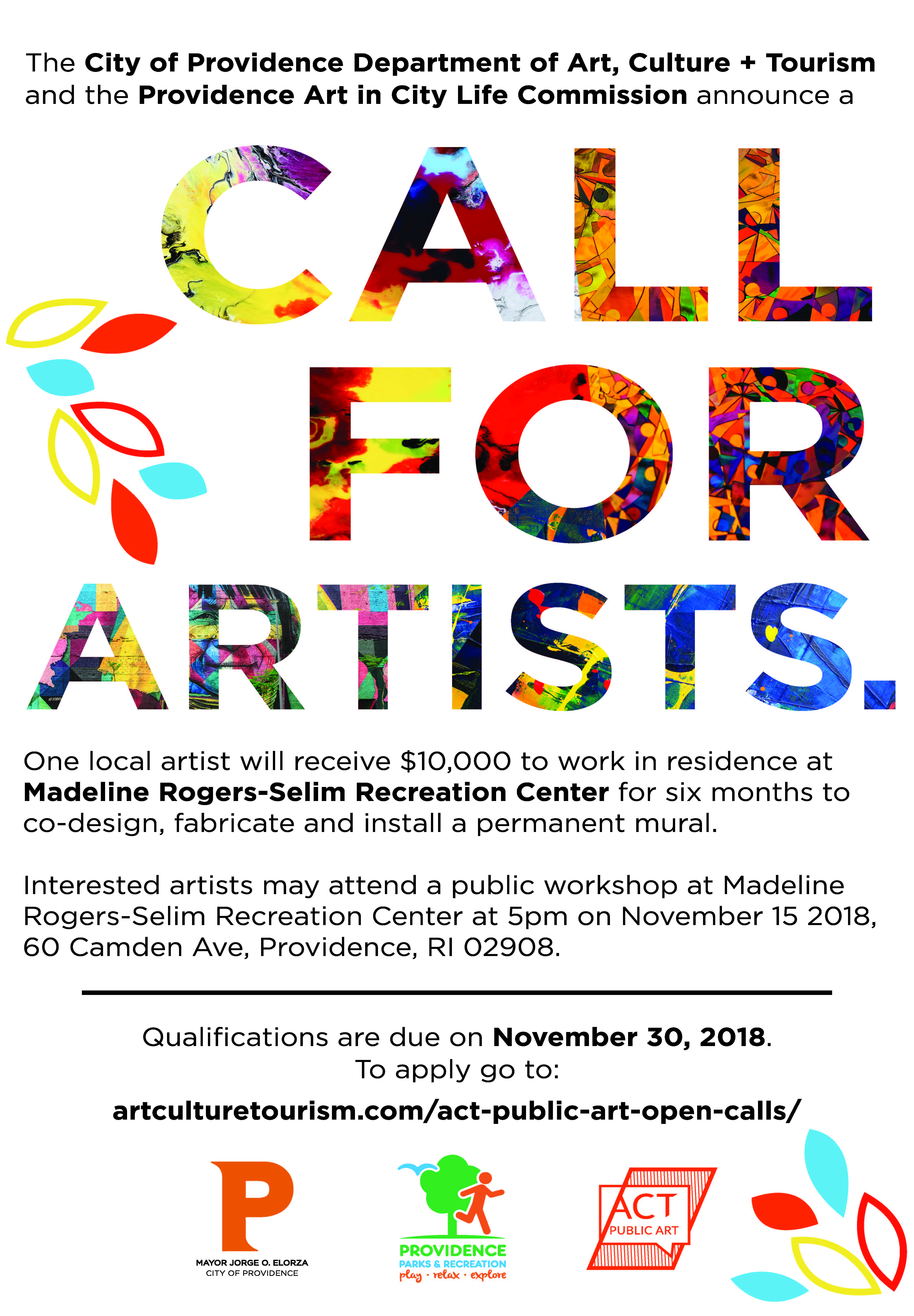 CallforArtists-Rogers Rec_ENG - ACT Staff