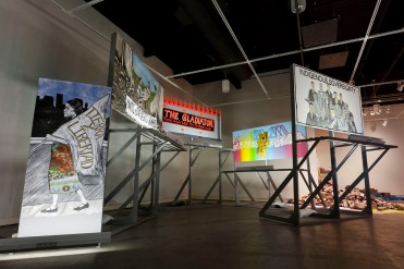 Justseeds InstallationPIttsburghBiennial2 - Meredith Stern